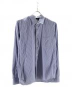 COMME des GARCONS SHIRT BOY(コムデギャルソンシャツ ボーイ)の古着「ストライプシャツ」 ブルー