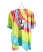 SUPREME()の古着「タイダイ柄プリントTシャツ」|マルチカラー