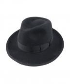 STETSON(ステットソン)の古着「ウールフェルトハット」|ブラック