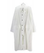 Barbour × Steven Alan(バブアー×スティーブン アラン)の古着「BURGHLEY NY/コート」|ホワイト