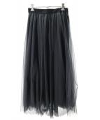 GALLARDA GALANTE(ガリャルダガランテ)の古着「チュールスカート」|ブラック
