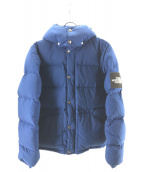 THE NORTH FACE(ザノースフェイス)の古着「ダウンジャケット」 ブルー