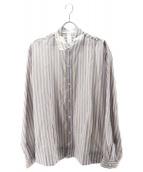 Dashiel Brahmann(ダシールブラフマン)の古着「Walter Stripe Shirts」 パープル