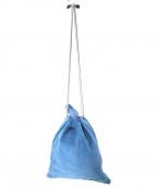 hobo(ホーボー)の古着「PIG LEATHER DRAWSTRING BAG」|ブルー