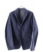 COMOLI(コモリ)の古着「デニム3Bジャケット」|インディゴ