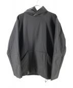 TEATORA(テアトラ)の古着「Wallet Hoodie Delta」|ブラック
