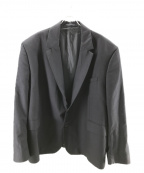 Hed Mayner(ヘド メイナー)の古着「オーバーサイズテーラードジャケット」|ネイビー