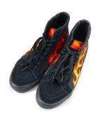 VANS×WTAPS(ヴァンズ×ダブルタップス)の古着「SK8-HI FLAME」|ブラック