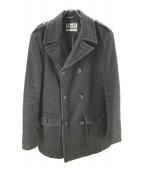 D&G(ドルチェアンドガッバーナ)の古着「中綿ウールコート」|グレー
