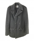 D&G(ドルチェ&ガッバーナ)の古着「中綿ウールコート」|グレー