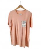Maison Margiela 10(メゾンマルジェラ 10)の古着「STEREOTYPE TEE」 ピンク