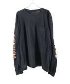 CHROME HEARTS(クロムハーツ)の古着「アームプリントポケットTシャツ」|ブラック
