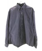 45R(フォーティファイブアール)の古着「180番三子のオーシャンボタンダウンシャツ」 ネイビー