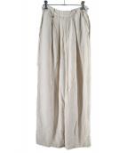 TODAYFUL(トゥデイフル)の古着「リネングルカパンツ」|アイボリー