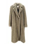ISABEL MARANT ETOILE(イザベルマラン エトワール)の古着「フェイクファーロングコート」|ベージュ