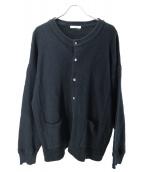 YASHIKI(ヤシキ)の古着「Hisetu Cardigan」|ブラック