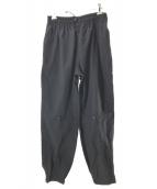 UNUSED(アンユーズド)の古着「nylon pants」|ブラック
