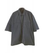 SSZ×A.H(エスエスジー×アキオハセガワ)の古着「ワークシャツ」|ネイビー