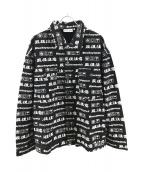 THE BLACK EYE PATCH(ザブラックアイパッチ)の古着「取扱注意カラーデニムジャケット」|ブラック