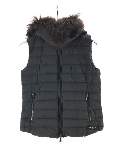 TATRAS(タトラス)TATRAS (タトラス) リバーシブルファーダウンベスト ブラック サイズ:02の古着・服飾アイテム