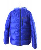 Patagonia(パタゴニア)の古着「Fitz Roy Down Parka」 ブルー