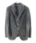 Santaniello(サンタニエッロ)の古着「コーデュロイセットアップ」|グレー