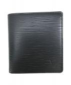 LOUIS VUITTON(ルイヴィトン)の古着「2つ折り財布」|ブラック