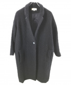 STUDIO NICHOLSON(スタジオニコルソン)の古着「ピリングウールコート/CARINA COAT」|ネイビー