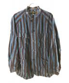 Needles(ニードルス)の古着「Chore Coat」 ブルー×ブラウン