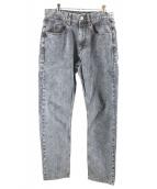 ISABEL MARANT(イザベルマラン)の古着「テーパードデニムパンツ」|グレー