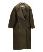 GUCCI(グッチ)の古着「ヴィンテージウールコート」|ブラウン