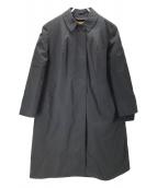 Eddie Bauer(エディーバウアー)の古着「ヴィンテージダウンライナー付きステンカラーコート」|ネイビー