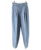 6(ROKU) BEAUTY&YOUTH(ロク ビューティアンドユース)の古着「KERSEY PANTS」 ブルー