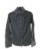 V.W. RED LABEL(ヴィヴィアンウエストウッドレッドレーベル)の古着「ストライプシャツ」|ブラック