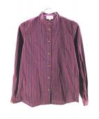 V.W. RED LABEL(ヴィヴィアンウエストウッドレッドレーベル)の古着「ストライプシャツ」|レッド