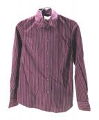 V.W. RED LABEL(ヴィヴィアンウエストウッドレッドレーベル)の古着「ボウタイシャツ」|レッド
