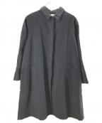 Conges payes(コンジェ ペイエ)の古着「ライナー付ステンカラーコート」|ネイビー