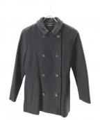 SOFIE D'HOORE(ソフィー ドール)の古着「ダブルボタンウールコート」|ネイビー
