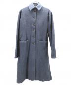 Khadi and Co(カディアンドコー)の古着「ヒマラヤンウールコート」|ブルー