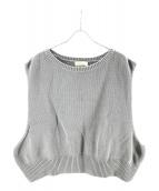 NEON SIGN(ネオンサイン)の古着「Plain Vest」|グレー