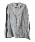 ()の古着「ワッシャー加工シャツ」 グレー