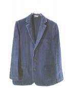 BLUE BLUE(ブルーブルー)の古着「刺し子テーラードジャケット」 インディゴ