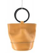 SIMON MILLER(サイモンミラー)の古着「ボンサイバケットバッグ」|ブラウン