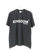 BURBERRY(バーバリー)の古着「KINGDOM LOGO TEE」|ブラック