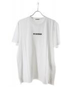 JIL SANDER(ジルサンダー)の古着「ロゴTシャツ」|ホワイト