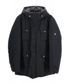 LOVELESS(ラブレス)の古着「ホワイトグースダウンコート」 ブラック