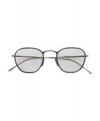 OLIVER PEOPLES(オリバーピープルズ)の古着「眼鏡」|シルバー