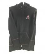 Mastermind JAPAN()の古着「スワロジップパーカー」|ブラック
