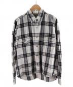 Mastermind JAPAN(マスターマインド ジャパン)の古着「チェックシャツ」|グレー