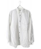 Graphpaper(グラフペーパー)の古着「ガーメントダイポプリンシャツ」 ホワイト